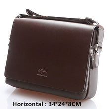 Load image into Gallery viewer, bag Vintage leather shoulder Handsome crossbody