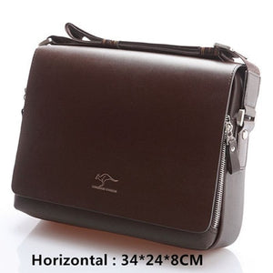 bag Vintage leather shoulder Handsome crossbody