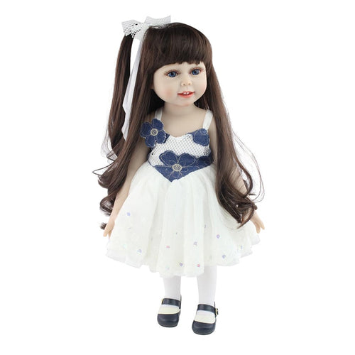 Silicone Baby American Doll Full Body