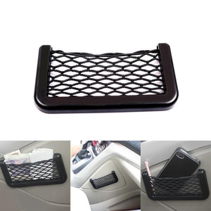 Small Car Seat Side Back Storage Net Bag