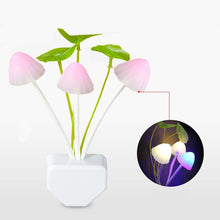 Load image into Gallery viewer, Light Sensor  3 LED Colorful Mushroom