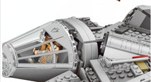 Load image into Gallery viewer, Millennium Falcon Figures Model Building Blocks