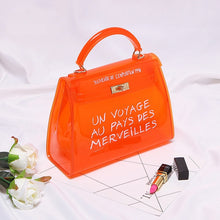 Load image into Gallery viewer, Bags Women Clear Transparent PVC Shoulder Bags