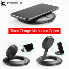 Load image into Gallery viewer, Wireless Charger 10W Qi Fast Charge Phone Charger