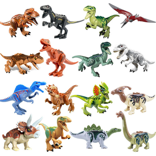 Building Block Toy Dinosaur Set Figure  Brick Compatible with lego