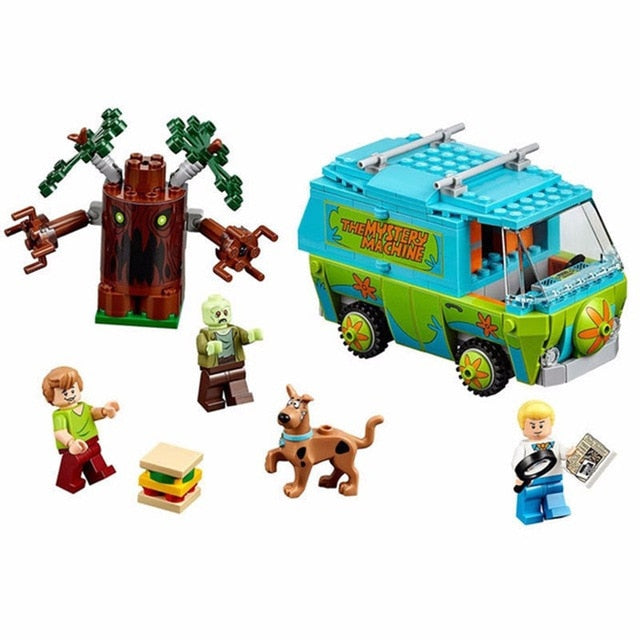 The Mystery Machine Bus Series Building Blocks