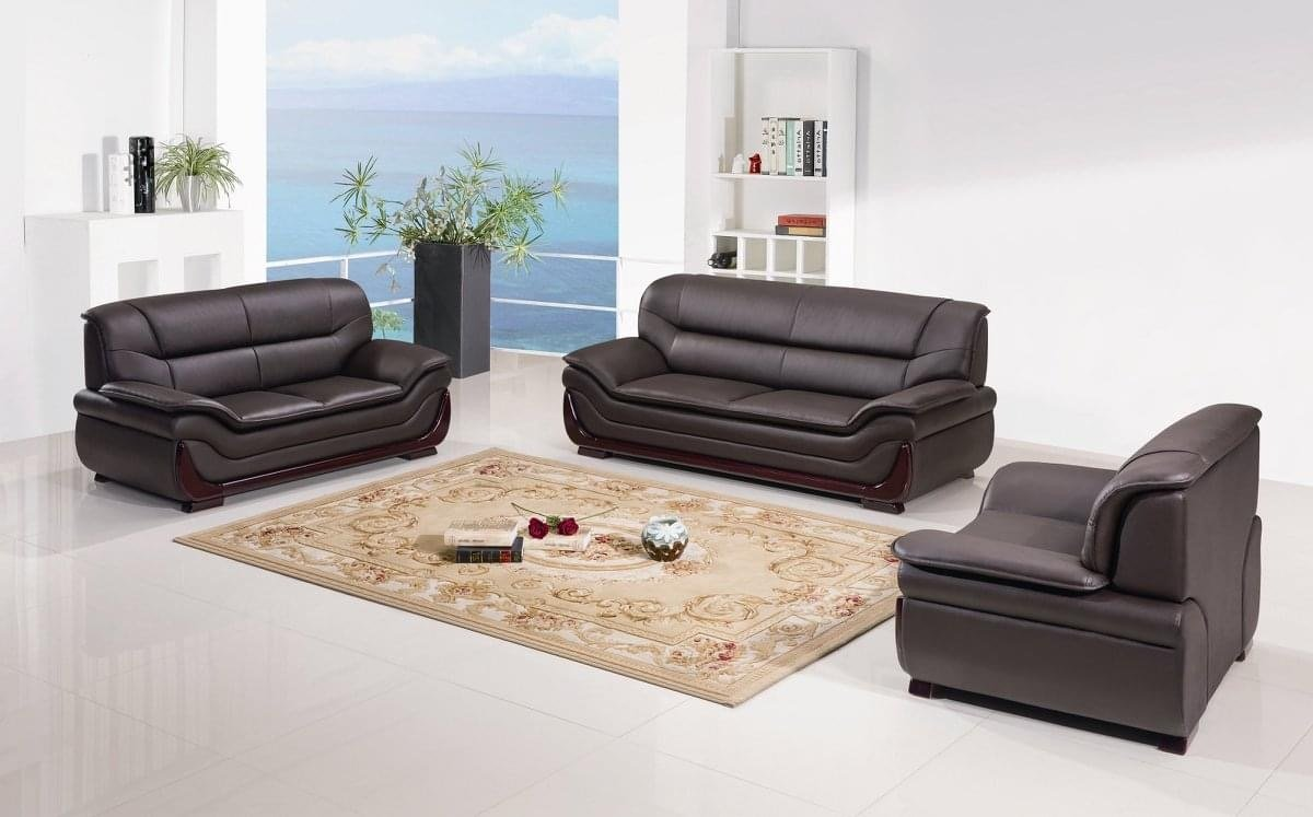 Java Italian Leather Living Room Collection