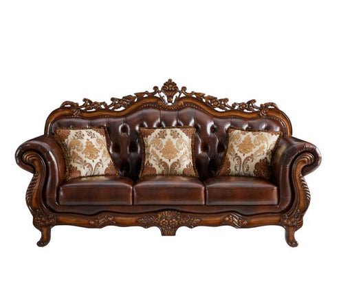 Monarch Leather Living Room Collection