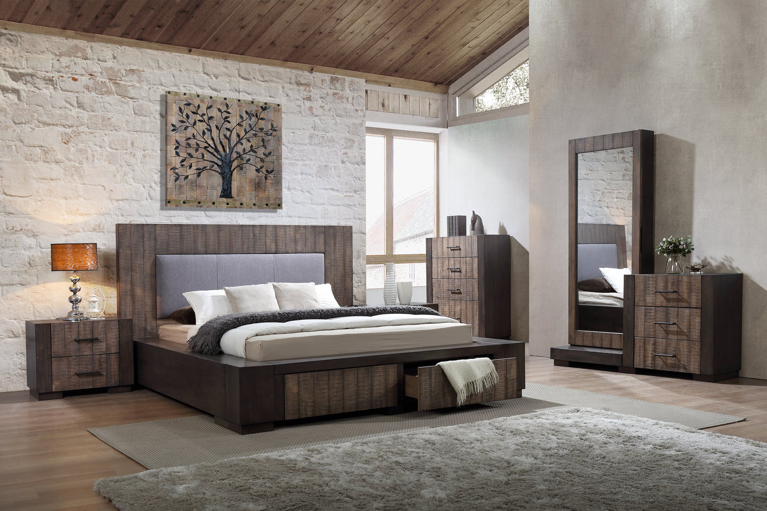 Pleven Storage Bedroom Collection