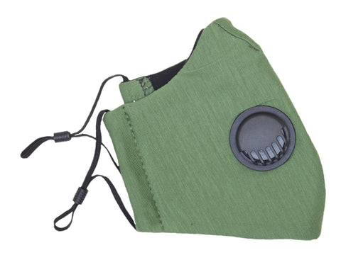 M11 Green Tencel Mask with Valve