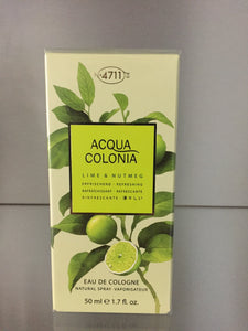 4711 Acqua Colonia - LIME & NUTMEG, 50ml - 4711