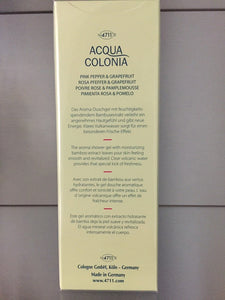 4711 Acqua Colonia PINK PEPPER & GRAPEFRUIT Aroma Shower Gel - 200ml - 4711