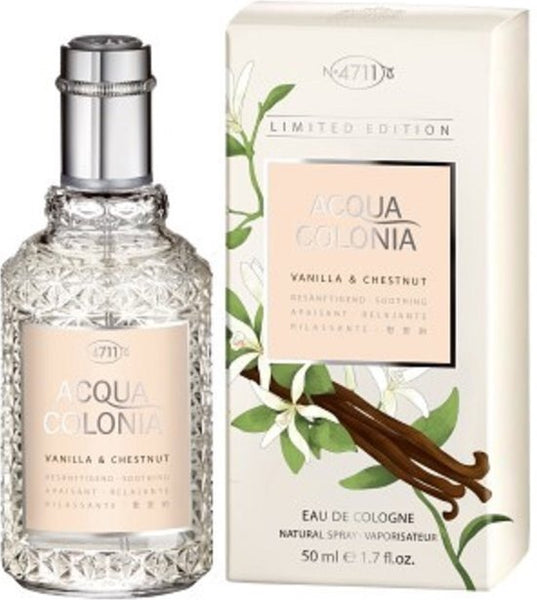 4711 Acqua Colonia VANILLA & CHESTNUT - 50ml
