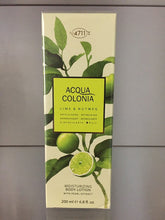 Load image into Gallery viewer, 4711 Acqua Colonia LIME & NUTMEG, Moisturizing Body Lotion, 200ml - 4711