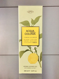 4711 Acqua Colonia LEMON & GINGER Aroma Shower Gel - 200ml