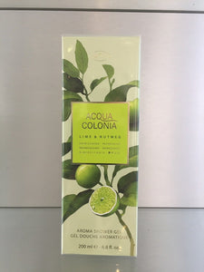 4711 Acqua Colonia LIME & NUTMEG, Aroma Shower Gel - 200 ml