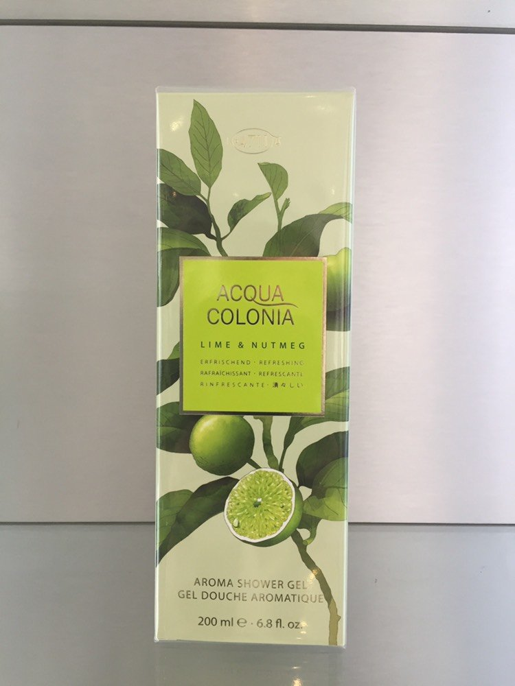 4711 Acqua Colonia LIME & NUTMEG, Aroma Shower Gel - 200 ml - 4711