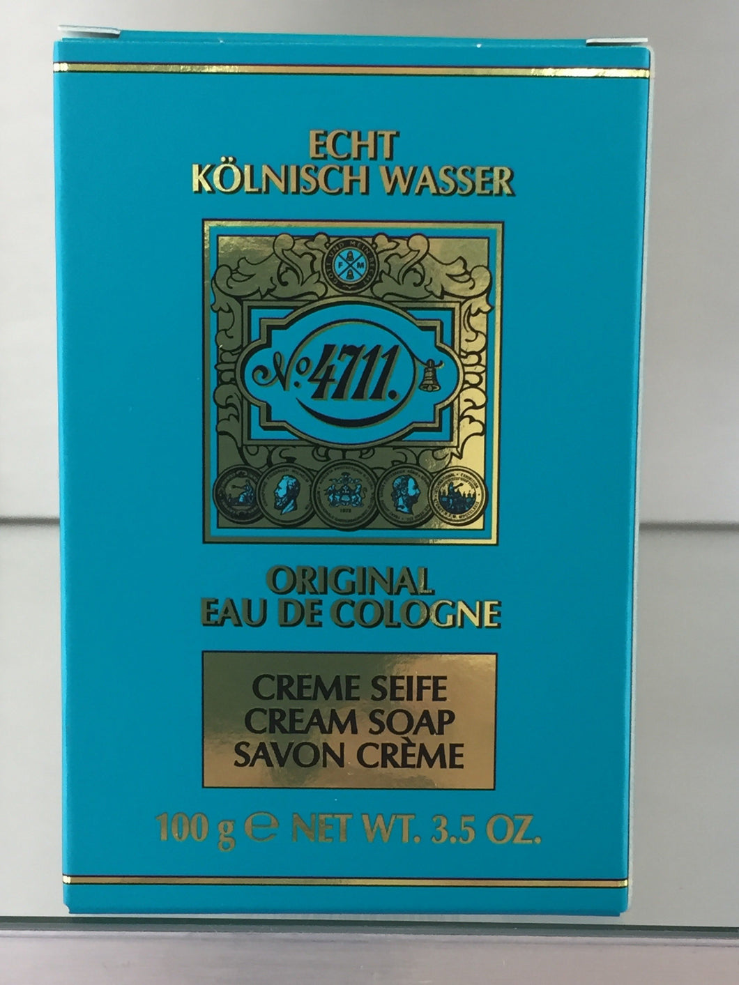 4711 Original Eau de Cologne, Cream Soap - 100gram - 4711