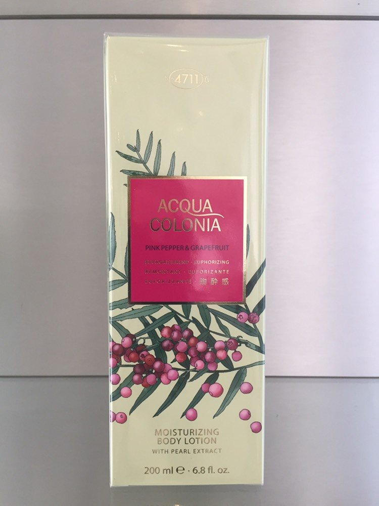 4711 Acqua Colonia PINK PEPPER & GRAPEFRUIT Body Lotion - 200ml