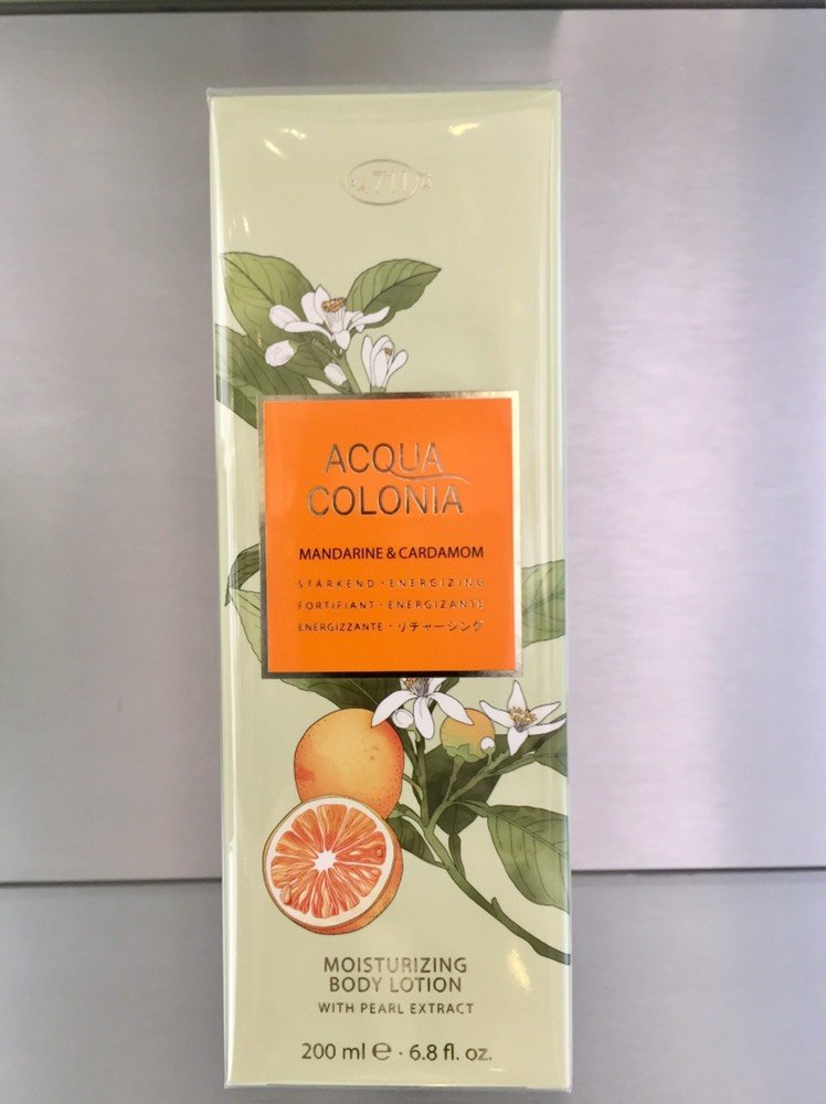 4711 Acqua Colonia MANDARINE & CARDAMON, Moisturizing Body Lotion - 200ml - 4711