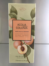 Load image into Gallery viewer, 4711 Acqua Colonia White Peach & Coriander - 170ml - 4711