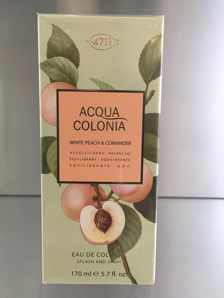 4711 Acqua Colonia White Peach & Coriander - 170ml