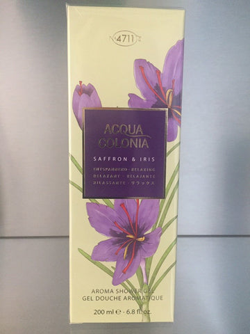 4711 Acqua Colonia Saffron & Iris, Aroma Shower Gel - 200ml