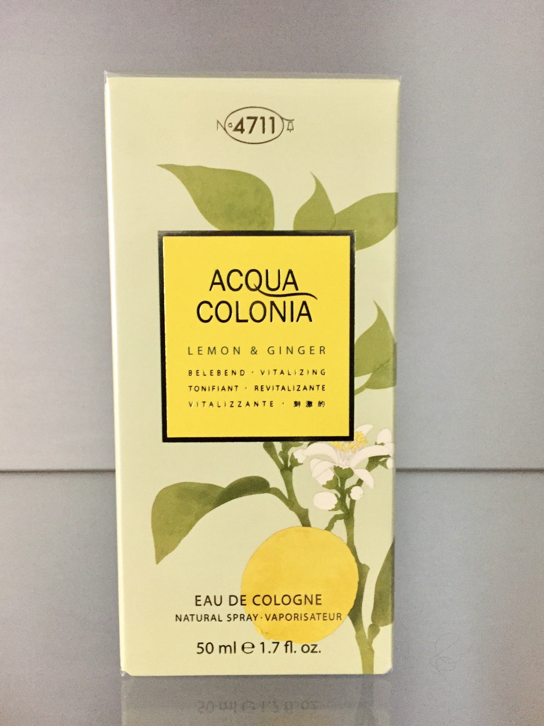 4711 Acqua Colonia LEMON & GINGER - 50ml - 4711