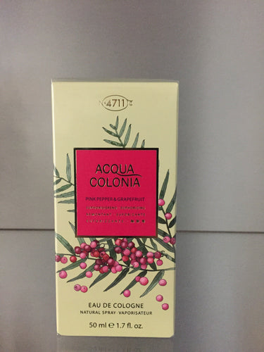 4711 Acqua Colonia - PINK PEPPER & GRAPEFRUIT 50ml - 4711