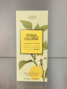 4711 Acqua Colonia LEMON & GINGER - 170ml