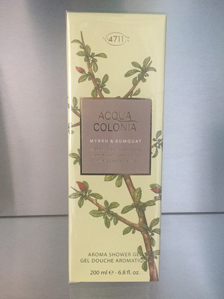 4711 Acqua Colonia, Myrrh & Kumquat, Aroma Shower Gel - 200ml - 4711