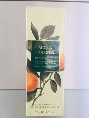4711 ACQUA COLONIA BLood Orange & Basil, Aroma Shower Gel, 200ml