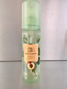 4711 Acqua Colonia WHITE PEACH & CORIANDER , Body Spray - 4711