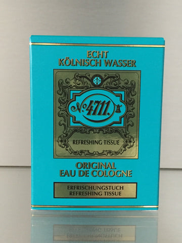 4711 Original Eau de Cologne, Refreshing Tissues (10p.)