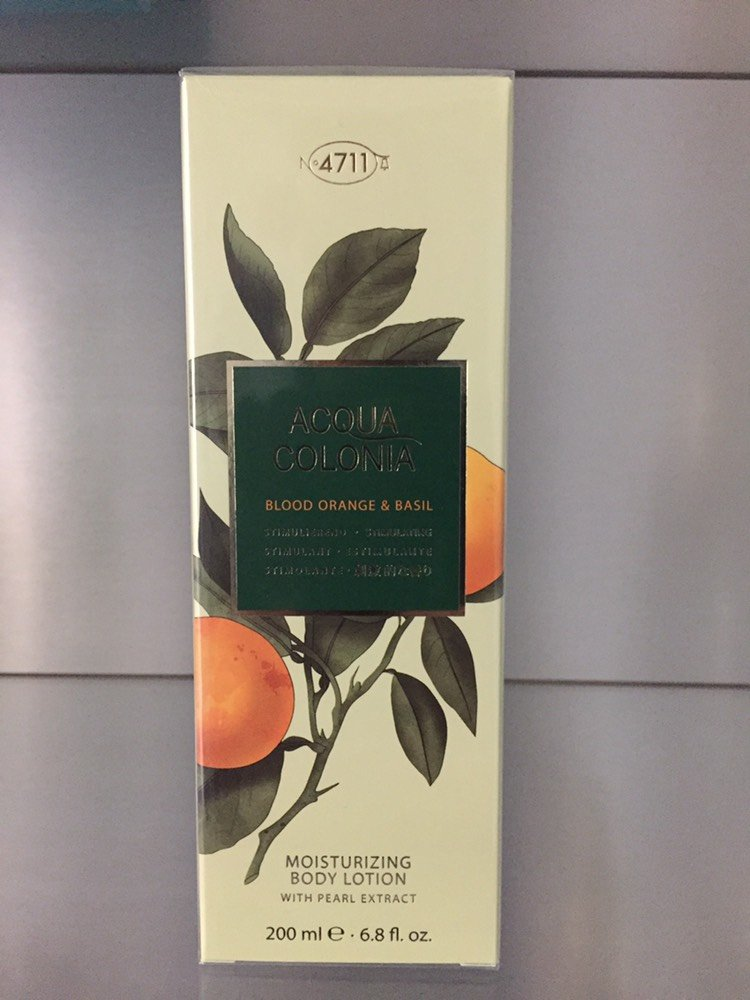 4711 Acqua Colonia BLOOD ORANGE & BASIL, Moisturizing Body Lotion, 200ml - 4711