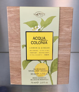 4711 Acqua Colonia LEMON & GINGER - 50ML Pack