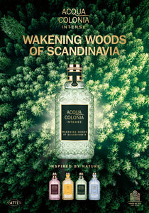 Cologne Intense - WAKENING WOODS OF SCANDINAVIA - 170ml - 4711