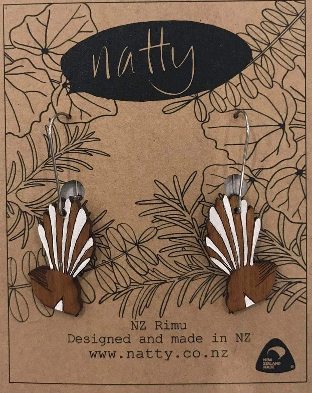 Natty Fantail Drop Earrings