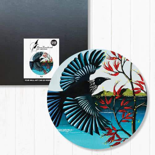 Indoor/Outdoor Art Circles - NZ Native Birds | NZ Art Designs