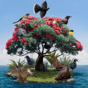 Barry Ross Smith The Garden Matted Print