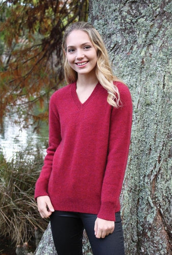 Lothlorian Plain V Neck Jumper