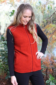 Lothlorian Zip Vest with Pockets