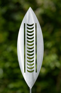 Aluminium Spear Nikau Outdoor Art