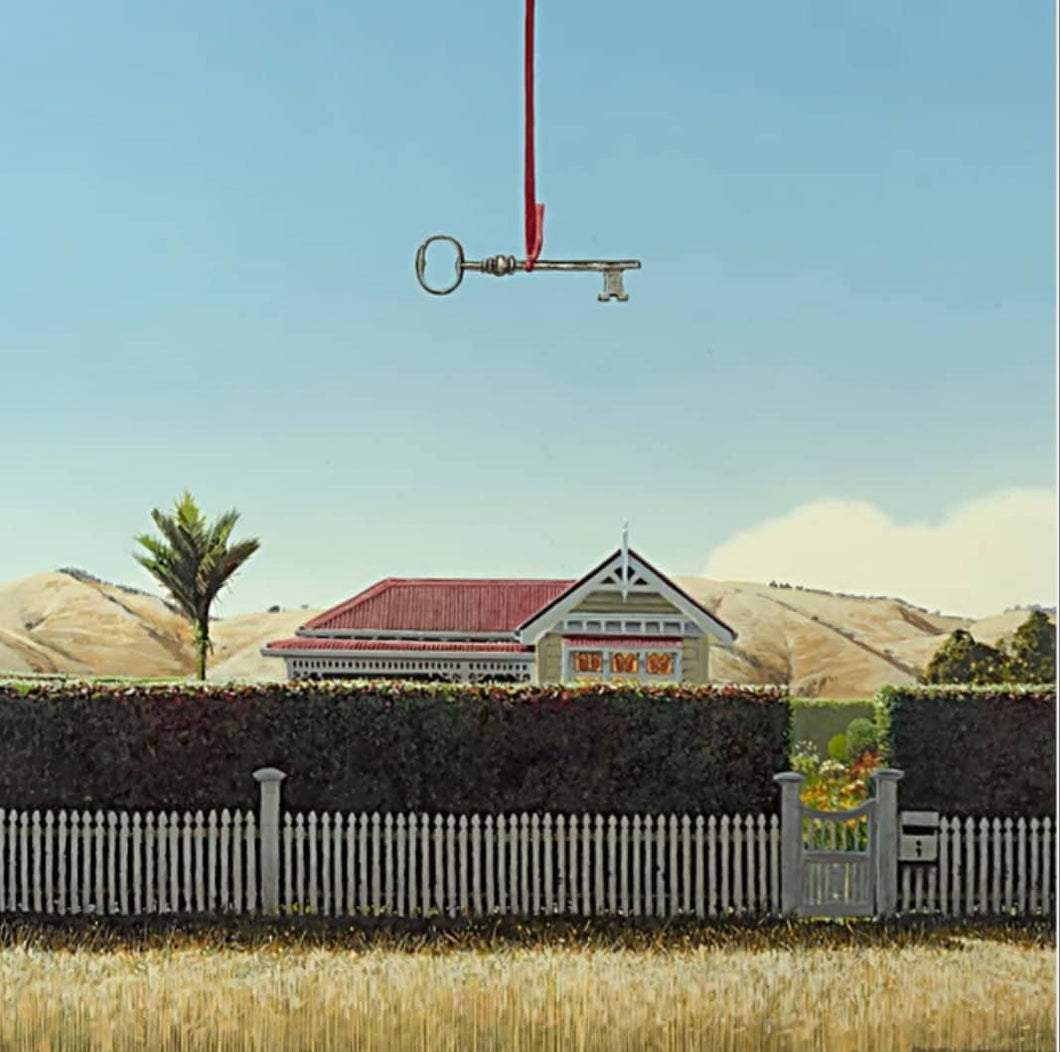 Barry Ross Smith Print - 'Open Home'