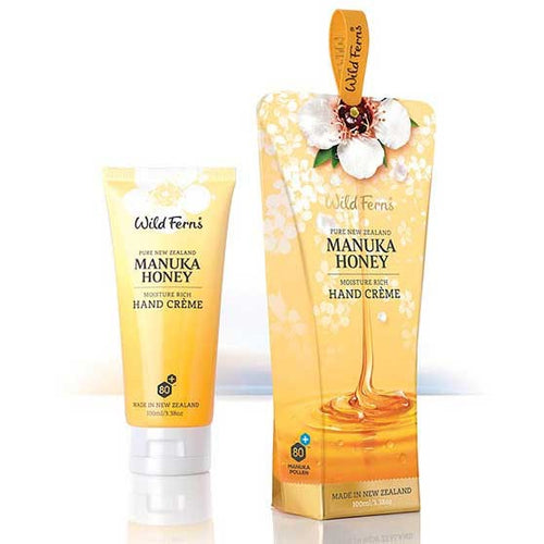 Wild Ferns Manuka Hand Cream Boxed
