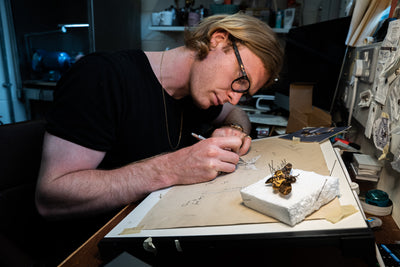 The Making Of The Moth Pin with Benjamin Hawkins