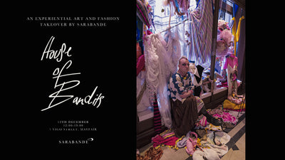 The Sarabande Mayfair Takeover: Wreath-making with Joshua Beaty at House of Bandits