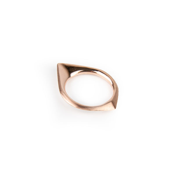 Charlotte Garnett, Cusp Ring 9ct Rose Gold