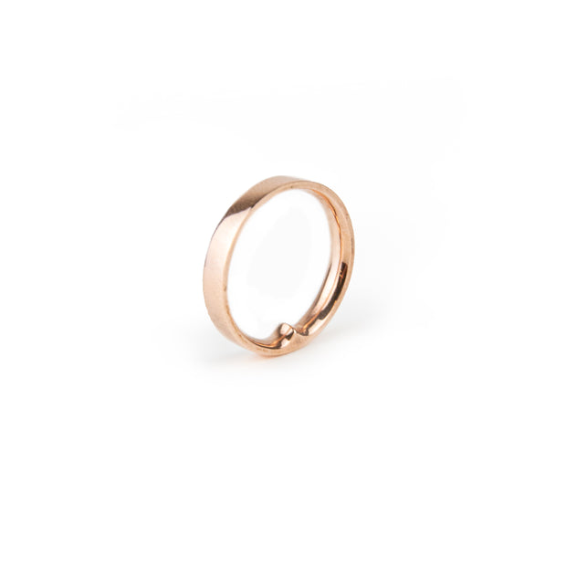 Charlotte Garnett, Point ring 9ct rose gold