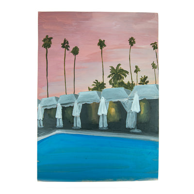 Evie O'Connor, Pink Skies over Beverly Hills (2021)